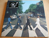 the beatles  abbey road  stretch canvas wall art 40cm x 40cm official new