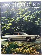 *68 Chevrolet NOS Dealer Brochure*
