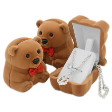 Bear Jewelry Display Gift Box Case - USA Seller - Free Ship