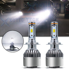 6000k White H7 LED Headlight Low Beam Bulbs Replacement For Hyundai Mazda Suzuki