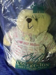 Avon Teddy Bear Gift Collection Mom Stuffed Plush Very Special Bears 1996