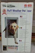 RUFF WEATHER Xtra Large Pet Wall Door Self-Closing Dual Flaps Lockout Panel