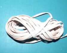 In Usa 3/16 Kangaroo Leather Lace 10 yds Unfinished Natural leathercraft tack