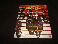 Ramones 1993 promo ad for Mondo Bizarro, Johnny Ramone, Joey Ramone, Marky, Cj
