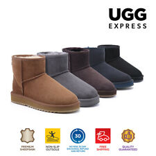 UGG Express Selected Unisex Mini Classic UGG Boots,Twin Face Sheepskin