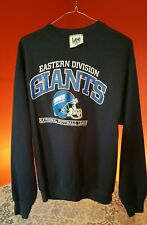 NEW YORK GIANTS SWEATSHIRT EASTERN DIVISION SIZE XL, EXCELLENT CONDITION