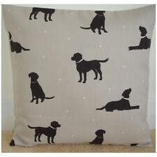 "18"" Cushion Cover Dark Brown Chocolate Labrador Dogs Retriever Lab Dog 18x18"