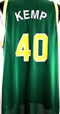 Vintage Sean Kemp Jersey Seattle Supersonics NBA Basketball 90s Champion Sz 49