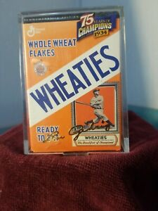 Vintage Collectible Signed Lou Gehrig Wheaties Box