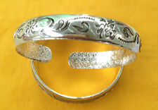 SACRED LUCK LOVE & PROTECTION SILVER FASHION BRACELET BLESSED BY MIRACLE MONKS(6