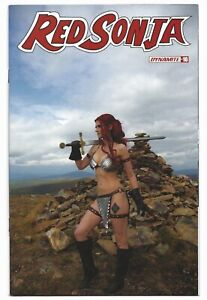 Red Sonja #16 2020 Unread Cosplay Photo Variant Cover E Dynamite Comics Russell