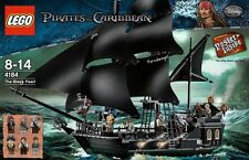 Lego 4184 Piraten der Karibik Black Pearl 100% Authentic USA Verkäufer