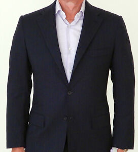 KITON Napoli Sakko Gr. 50 Anthrazit Neuwertig Jackett Wolle