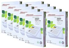 10 x Reams A4 Bright White 80gsm Recycled Paper, Office/Printer/Copier, P-0115#