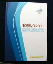 2006 Italy Winter Olympic Games TORINO official folder book stamps