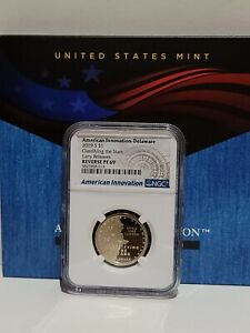 2019 S $1 NGC Reverse PF69 Delaware Classifying the Stars American Innovation
