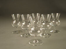 Baccarat THISTLE Brandy Glass 3782197---Set of 6