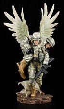 Ange Gardien Figurine - Enregistrer Blessé Soldats - Fantaisie Statue Cadeau