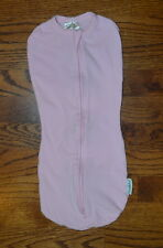 Summer Infant Light Pink Swaddlepod 5-10 lbs 0-2 Months Zippered EUC
