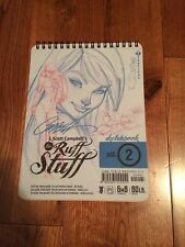 J Scott Campbell SDCC 2012 Sketchbook Ruff Stuff Vol 2 HTF Artbook