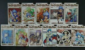 JAPAN manga LOT: Fire Emblem: Hasha no Tsurugi vol.1~11 Complete Set