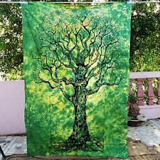 Indian Wall Hanging Hippie Bedspread Ethnic Home Decor Gypsy Vintage Tapestry