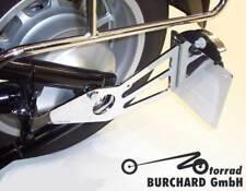 kennzeichenhalterungen in chrome f r motorrad ebay. Black Bedroom Furniture Sets. Home Design Ideas