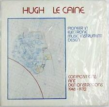 """Hugh Le Caine """"Pioneer In Electronic Music Instrument Design"""" NM ~ Import Canada"""