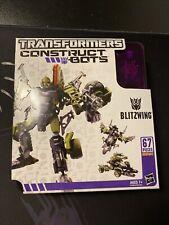 TRANSFORMERS Construct Bots BLITZWING Triple Changers 67 Pieces (B1)