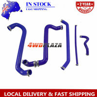 Silicone Radiator Heater Blue Hoses Kit For FORD AU FALCON 4.9L V8 INC XR8 98-02