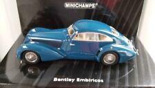 1/43 Minichamps BENTLEY EMBIRICOS 1939 blau 438 139821