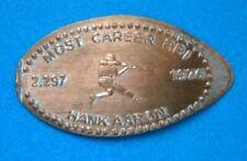 Hank Aaron elongated penny Usa cent Mlb Baseball coin Most Career Rbi 2297