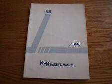 Kawasaki JS440-A8 Jet Ski Owner's Manual P/N 99920-1260-01