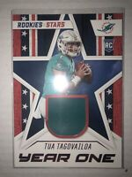 Tua Tagovailoa rc patch year one rookies and stars - very good condition