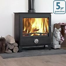 16KW MONDO + CLEAN BURN Contemporary Woodburning Stove Stoves