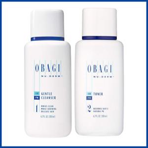 Obagi Medical Gentle Cleanser + Face Toner 6.7 oz Bundle