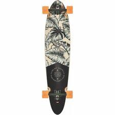 """Globe Pinner Classic 40"""" Hurricane Leaves Longboard Skateboard Complete - New!"""