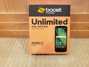 "Boost Mobile Prepaid Motorola Moto G6 Play 5.7""HD/16GB/2GB  Smartphone NEW"