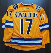 Authentic Kovalchuk Prostock Pro Stock Hockey Jersey All Star Khl