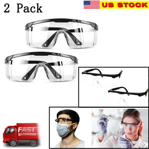 JITOOL Protective Goggles Safety Glasses Clear Anti Spit Protective Dust Fashion