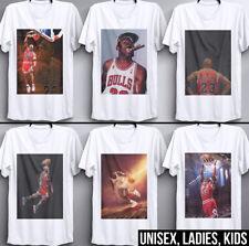 Michael Jordan T Shirt Street Fashion Urban NBA Sports Basketball 80s 90s Retro