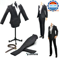 1/6 Scale Office Lady Business BLACK Pants Suits Set For 12'' Female Figure❶USA❶