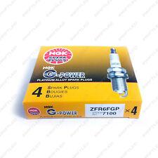 4 pcs Genuine NGK ZFR6FGP G-Power Platinum Alloy Spark Plug 7100 Made in Japan