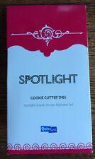 """Quickutz """"SPOTLIGHT"""" Grand Unicase Alphabet Set, Cookie Cutter Dies *New*"""