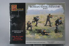 YH073 PEGASUS HOBBIES 1/72 maquette figurine 7270 Russian Naval Infantry WWII