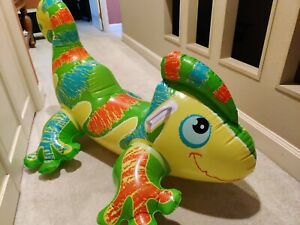 Intex Gecko Ride On Inflatable Pool Toy 54 X 36 (2014)