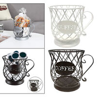 Coffee Pod Holder Espresso Pod Coffee Capsule Storage K Cup Basket Mug Shape