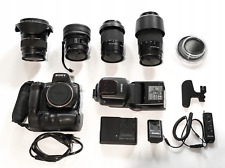 Sony A350 4 lenses including Fisheye 2.8 / 16 and Lamp