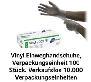 Vinyl Einweghandschuhe