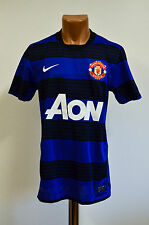 SIZE S MANCHESTER UNITED ENGLAND 2011/2012 AWAY FOOTBALL SHIRT JERSEY NIKE